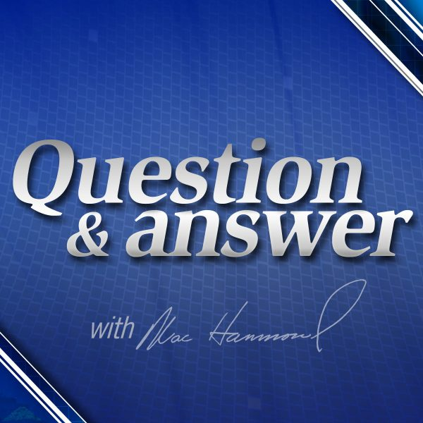 question and answer with mac hammond
